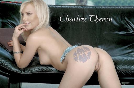charlize theron desnuda hot